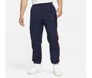 Pantalon Barça Windrunner Bleu/Rouge
