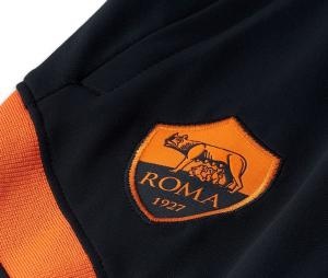 Pantalon Entraînement AS Roma Strike Noir Junior