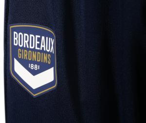 Pantalon Entraînement Bordeaux Bleu Junior