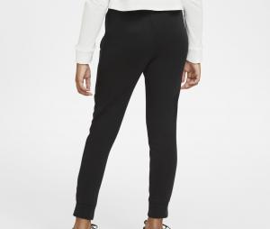 Pantalon AS Rome Fleece Noir Junior