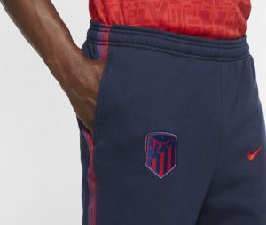 Pantalon Atletico Madrid Fleece Bleu