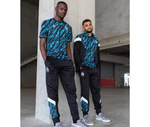 Pantalón OM Iconic Graphic Negro/Azul