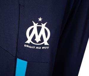 Pantalon OM Pré-Match Bleu