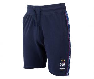 Short France Fan Bleu