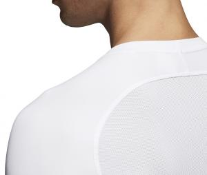 Maillot Manches Longues adidas Alphaskin Sport Blanc