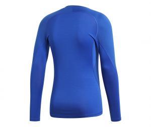 Maillot Manches Longues adidas Alphaskin Sport Bleu