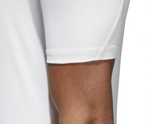 Maillot adidas Alphaskin Blanc.