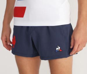 Short Entraînement France Rugby Bleu