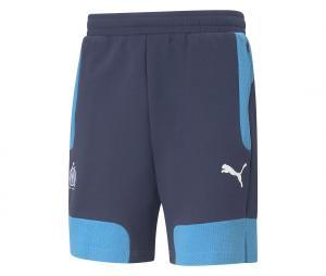 OM Evostripe Shorts Blue