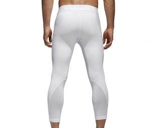 Collant 3/4 adidas Alphaskin Blanc