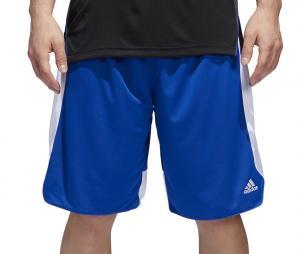 Short adidas Crazy Explosive Réversible Bleu/Blanc