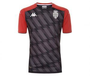 Maillot AS Monaco Aboupres Pro 5 Gris/Rouge