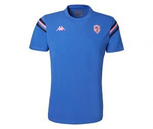 T-shirt Stade Français Fiori Bleu