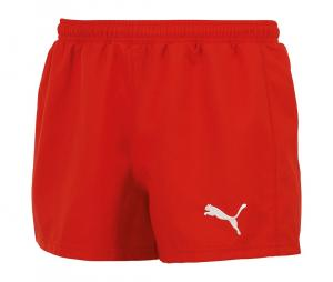 Short sans poches Puma Speed Rugby rouge