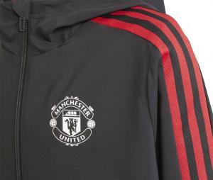 Veste Présentation Manchester United Noir Junior