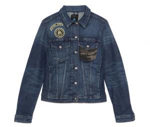 Kaporal x OM Slim Woman's Jacket Blue