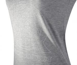 Camiseta sin manga OM Logo Gris Mujer