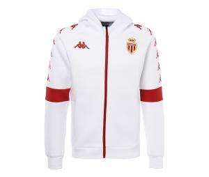 Veste à capuche AS Monaco Blanc