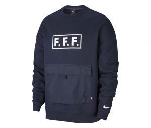Sweat-shirt France Crew Bleu