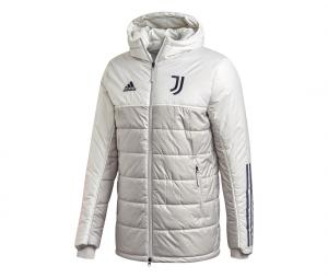 Doudoune à capuche Juventus Gris