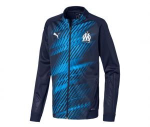 OM Stadium Kid's Jacket Blue