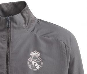 Veste Présentation Real Madrid Gris Junior