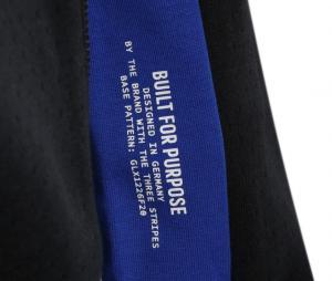 Veste à capuche OL Anthem Z.N.E. Noir/Bleu