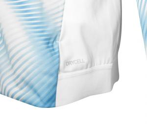 Veste OM Stadium Blanc/Bleu Femme