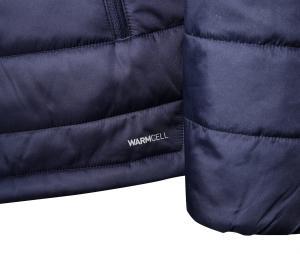 Doudoune à capuche OM Bench Bleu