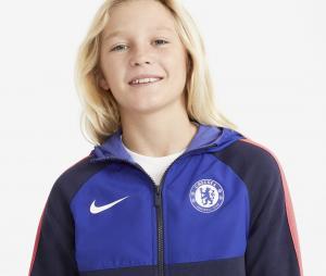 Veste à capuche Chelsea Bleu Junior