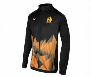 OM Stadium Kid's Jacket Black