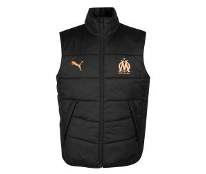 OM Casuals Men's Sleeveless Jacket Black