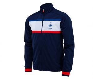 Veste France Fan Bleu Junior