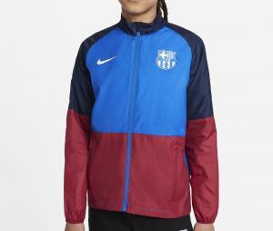 Veste Barça Repel Academy Bleu/Rouge Junior