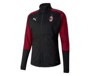 Veste AC Milan Stadium Noir/Rouge