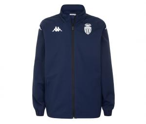 Veste à capuche AS Monaco Adverzip Pro 5 Bleu