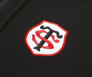 Veste à capuche Stade Toulousain Noir