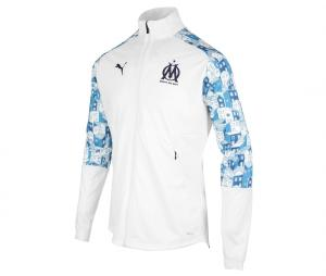 OM Stadium Men's Football Jacket White