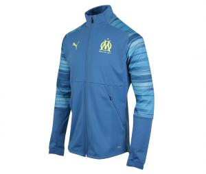 OM Stadium Men's Jacket Blue