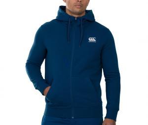 Veste à capuche Canterbury THRU Fleece Bleu