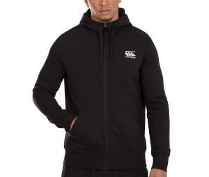 Veste à capuche Canterbury THRU Fleece Noir