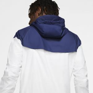 Veste Tottenham Windrunner Blanc/Bleu