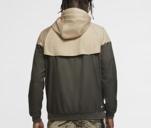Veste à capuche Nike Atletico Madrid Windrunner Vert/Beige
