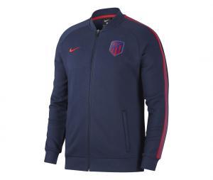 Veste Atletico Madrid Fleece Bleu