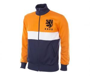 Veste Vintage Pays-Bas 1983 Orange/Bleu