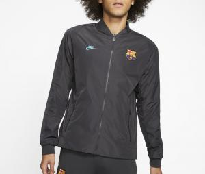 Veste réversible Barça Noir-Vert