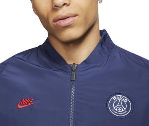 Veste PSG Réversible Rouge/Bleu