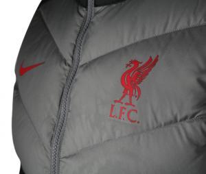 Doudoune sans manche Liverpool Windrunner Noir/Gris