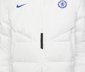 Doudoune à capuche Chelsea Strike Blanc