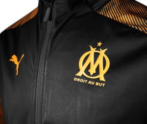 Veste Présentation OM Noir/Orange